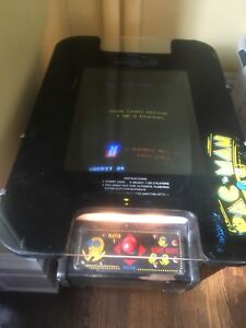 MS PAC Man Vintage Arcade machine