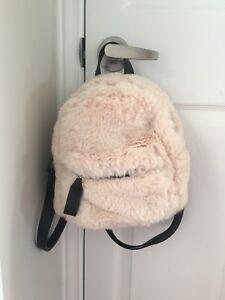Fuzzy Mini Backpack