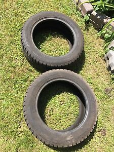 2 winter tires 205/55/16 with 70% thread left for only $50 both
