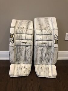 "Brian's 31""+1 goalie pads"
