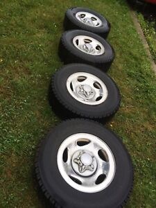 Roues de mags comme neuf  pour pickup Ford