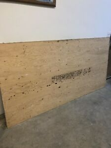 Two sheets plywood