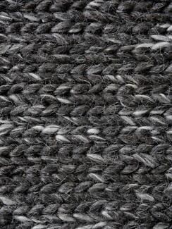New Como Natural Charcoal Handwoven Wool Rugs