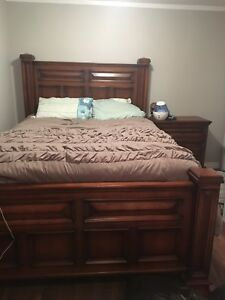 Solid Wood 6 Piece Bedroom Set for sale