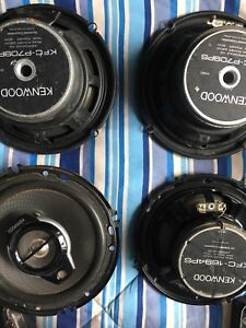 Kenwood 5 1/4 speakers with crossovers