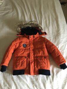 Boy winter jackets and snow pants. Size 4-7