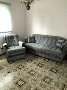 Sofa and Chair - Just like new, from a SFPF home