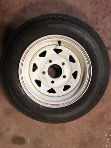 new Hi-Run trailer tire on a rim 5.30/12R  6ply