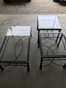 Tables - coffee table and end tables