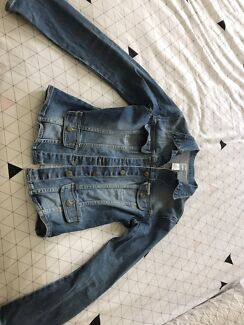 Authentic Sass and Bide Jean Jacket