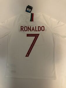 CRISTIANO RONALDO PORTUGAL 2018 WORLD CUP JERSEY NEW WITH TAGS
