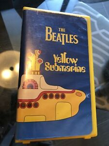 The Beatles Yellow Submarine 1968, 1999 MGM VHS.
