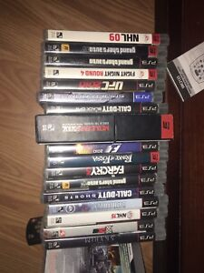 LOTS OF PS3 GAMES FORSALE