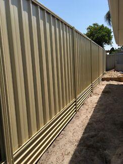 Fence Installation- Storm Damage/Retaining/Colorbond