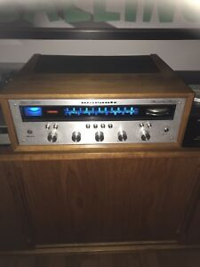 Vintage stereo receiver