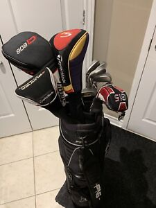 Full set of ping i3+ right handed golf clubs