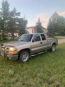 Saftied 2000 Chevy 2500