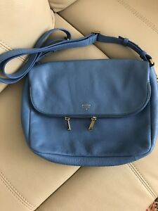 Brand new Fossil leather purse bag
