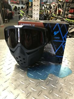 LY100 SPIRIT V GOGGLE FACE MASK HARLEY DAVIDSON CRUISER RETRO Morley Bayswater Area Preview