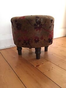 Footstool / Pouf / Bedside table St Peters Marrickville Area Preview
