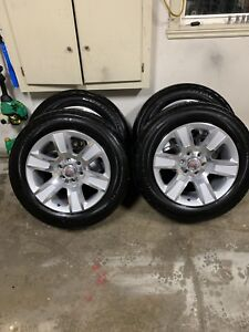 275/55/20 6 bolt GMC Sierra wheels and tires