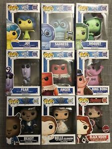 Disney & Marvel Funko Pop Figures