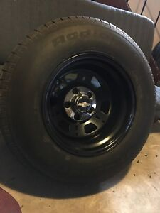 15x10 gm truck new rubber