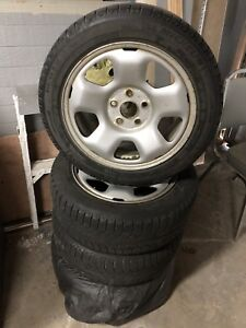 Michelin winter Tires with Rims 215/55 R17