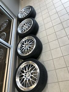 4 MAGS FAST 18 POUCES 5x100/5x114.3