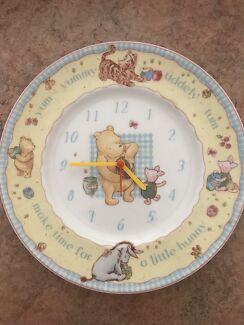 Royal Doulton Winnie the Pooh clock plate (collectors)