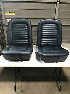 1965 Mustang Coupe front seats
