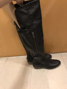 Women's knee high boots - black - size 7