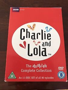 Charlie & Lola - 11 DVD disc set Greenwith Tea Tree Gully Area Preview