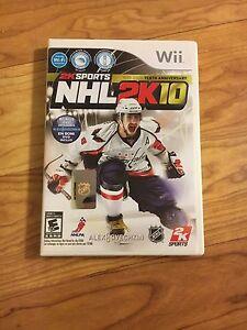 NHL 2K10 Wii Game