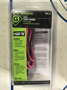Fused leads for testers Ideal Greenlee UEi