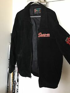 Snap on men's jacket