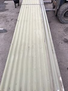 Recycled green Colorbond corrugated iron roof sheets 5.9 m long Dromana Mornington Peninsula Preview