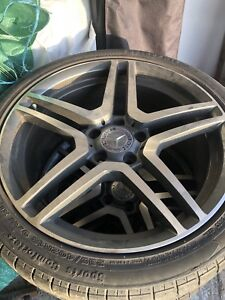 Mercedes 18 mags with tires