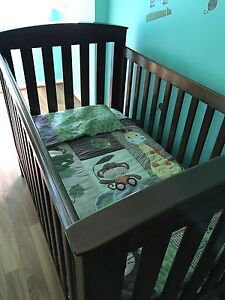 Boori 3 in1 Classic Cot, Immaculate Condition Mattress and  Air Wrap Port Noarlunga Morphett Vale Area Preview