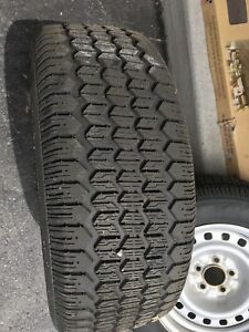 Snow tires and rims for sale