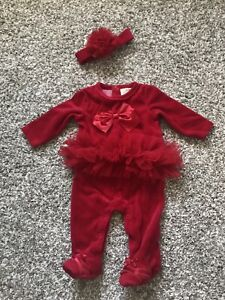 First impressions baby girl 0-3m costume