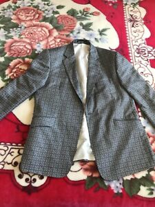 Duchamp Silk Men's Suit Jacket