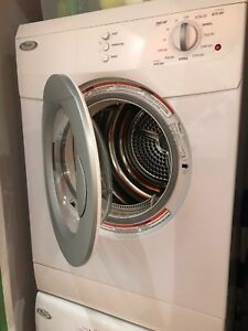 Used Whirlpool 3.8 cu.ft Compact Front Load Dryer