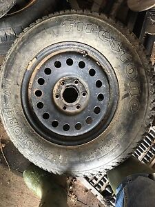 Spare Chevy tire