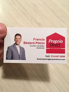 Francis Bédard-Pétrin - Courtier immobilier