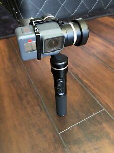 GoPro hero 5 with Feiyutech G5 3-axis gimbal