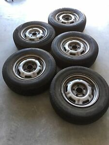 "14"" Holden Rims Tyres, may suit early Holden or a Trailer - HQ onwards Hewett Barossa Area Preview"