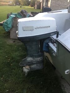 50hp Johnson Outboard Engine