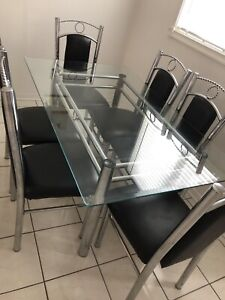 DINING TABLE- GLASS