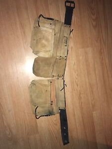 Used leather tool belt 25$ obo price negotiable